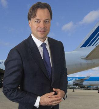 Gertjan Roelands' focus is on optimum customer experience.  Image: Air France KLM Martinair Cargo