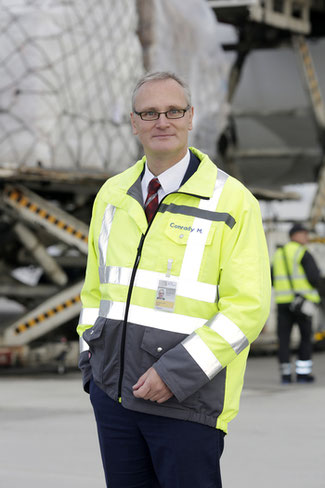 FRA's  Head of Cargo Development, Max Conrady, expects the freight bonanza to continue  -  courtesy: Fraport