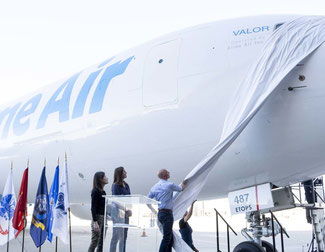 Unveiling of Amazone's latest B767F