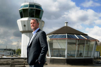 Jos Roeven heads Maastricht Airport – image: company courtesy