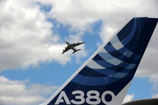 Who will have the world's first A380 temporary freighter?