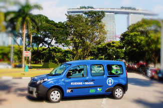 Kuehne + Nagel launch electric vehicles in Singapore