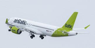 Investing in cargo at Riga. Image: Air Baltic