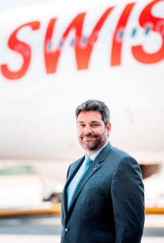 Lorenzo Stoll heads Swiss WorldCargo since April 1, 2021  -  image courtesy of Swiss WorldCargo