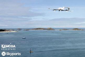 Cargo drones will soon be heading to Jeju Island. Image: Skyports