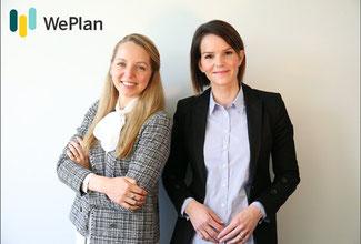 Putting the thrust into workforce planning, WePlan Founders: Franziska Burmester and Lana Jansen. Image: WePlan