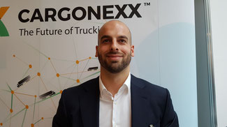 Timo Altstadt is Head of Sales at Cargonexx  -  photo: hs