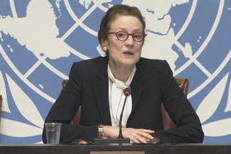 """The role of airlines and transport companies will be critical to the Covid-19 vaccines endeavor,"""" said Henrietta Fore, UNICEF Executive Director – photo: Unicef"""