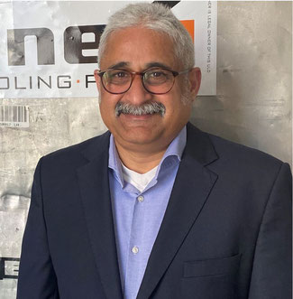 Shailendar Kothari manages Jettainer's business in The Americas  -  image courtesy Jettainer