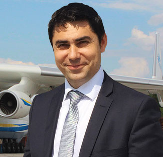 Andriy Blagovisney is Commercial Director at Antonov Airlines