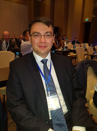 Denis Ilin is Deputy CEO International Business of the Russian Post  -  photo: CFG/hs