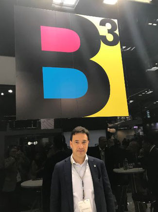 Mauro Grisafi - CEO BCUBE AIR CARGO  -  photo: jmd