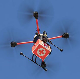 Drones are becoming increasingly attractive for last mile deliveries  -  courtesy: directindustry