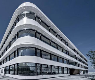 DSV Headquarters at Hedehusene, Denmark  -  company courtesy