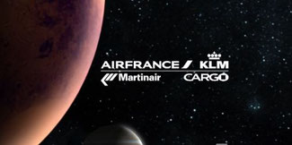 Air France-KLM-Martinair Cargo on way to Mars