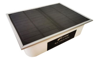 Descartes' mesh network works with solar powered relays  -  images company courtesy