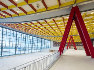 Making use of unused space. Image: Brussels Airport