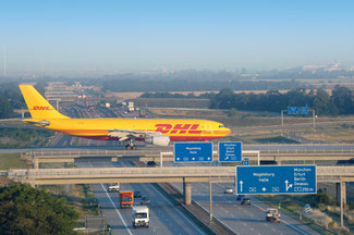 DHL Express ensures high volumes at LEJ  -  company courtesy