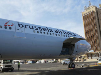 Brussels Airlines serves a dense network in Sub-Sahara Africa, supporting time:matters' business  -  picture: CFG