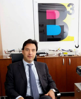 Mauro Grisafi, general manager BCUBE Air Cargo - company courtesy