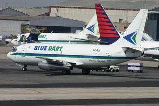 Blue Dart Express is India's leading domestic cargo carrier