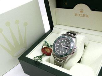 ROLEX ロレックス グリーンサブ