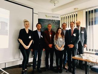 Projektteam in  der Essener Wirtschaftsförderung