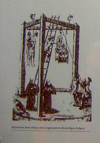 Abbildung: Infotafel an der Gedenkstätte