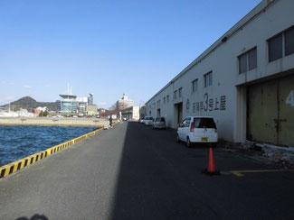港湾などの岸壁