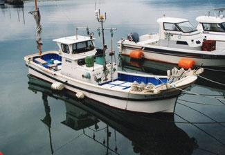 プロフィール 漁船の写真