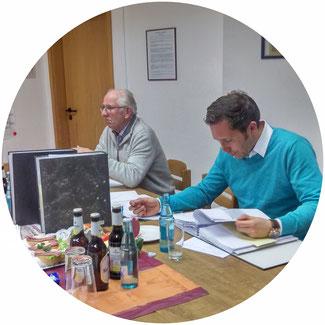 v.L. Friedbert Schulz, Sandro Wilke