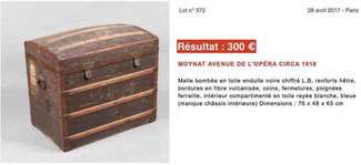 estimate domed trunk old louis vuitton trunk