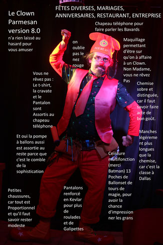 clown magicien spectacle de magie