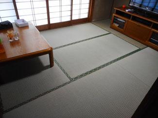 日野市K様 新畳「特上」畳おもてをご注文になりました