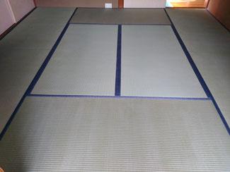 熊本県産の畳おもて 畳新調