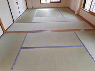 東京オリパラモチーフの市松模様が素敵な畳縁