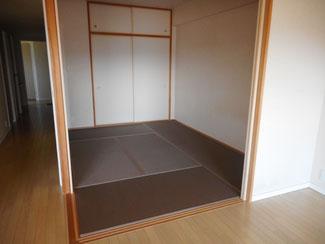 日野市K様ビニール畳セキスイ美草ラテブラウンですてきな和室