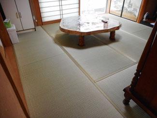 昭島市M様熊本県産の上級品で畳表替え