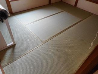 東京都あきる野市K様ビニール畳セキスイ美草と天然イグサの畳2部屋をご注文になりました