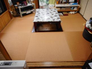 町田市 紙の畳縁無し半畳 琉球畳