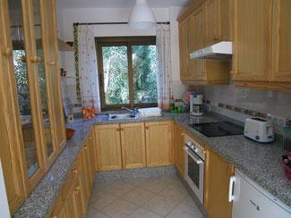Eine der Küchen von Haus 2