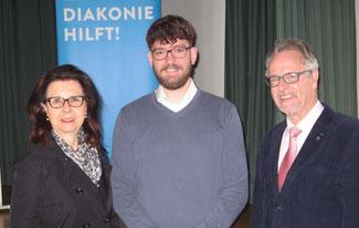 Renate Frohnhöfer, Patrick Ehmann, Vorgänger Jürgen Schweitzer (v.l.n.r.)
