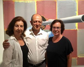 v.l.n.r.: Renate Frohnhöfer, Masoud Sadedin und Dagmar Ziegner