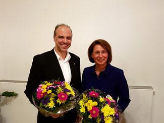 Ralph Lorenz und Nicole Westig
