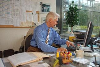 Der Fraktionsgeschäftsführer Hans-Joachim Pagels