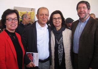 von links nach rechts: Dagmar Ziegner, Masoud Sadedin, Renate Frohnhöfer, Jürgen Peter