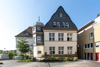 Gebäudefoto PROgymnasium Zugang Schlossstraße