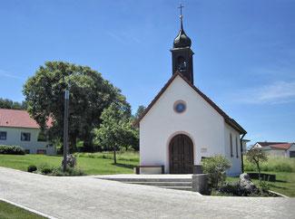 Die Bruder-Klaus-Kapelle in Wolfsricht. pde-Foto: Karl Klebl
