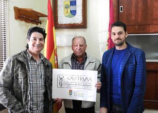 Ángel de Bodas acompañado de Fernando Cámara y Sergio de la Llave