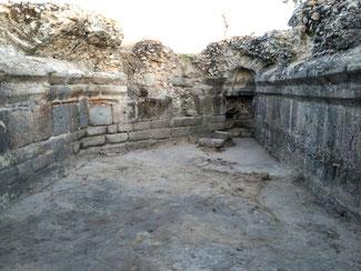 Vista de la cripta del Mausoleo de Las Vegas